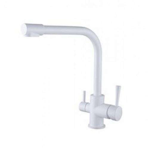 KAISER Merkur 26044-10 Смеситель для кухни под фильтр белый