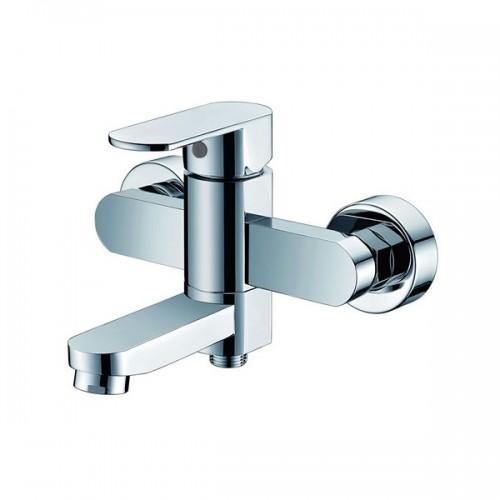 KAISER Sonat 34022 Сhrome Смеситель для ванны с душем (скрытый дивертор) Хром