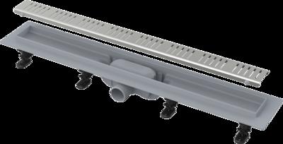 Трап линейный ALCAPLAST с решеткой из нерж. APZ10-750 (Чехия)