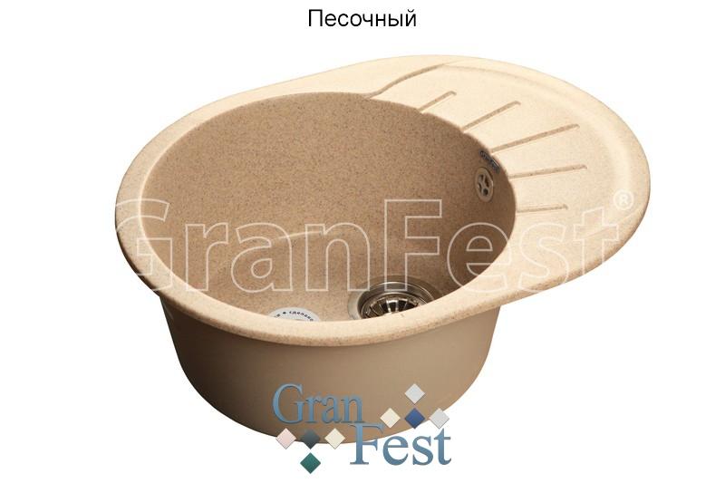 Мойка кухонная RONDO GF-R580L