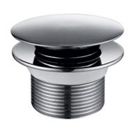 Выпуск для ванны KAISER автомат , CLICK/CLACK металл (хром)