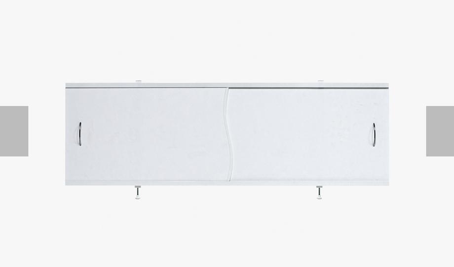 Экран под ванну «Премьер» с алюм. рамой